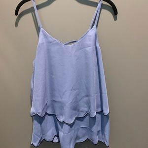 Periwinkle top L (fits like M)